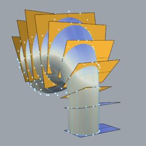 犀牛高级建模篇:均匀布点拍平点(不限定版本,不装插件)
