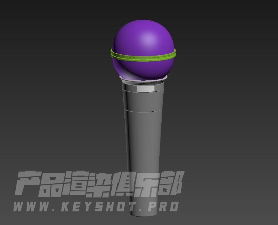 Keyshot10 一天一个小技巧 布料材质另类使用