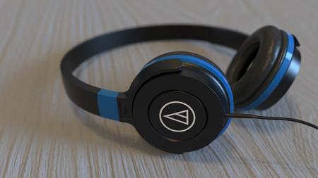 铁三角耳机3D模型