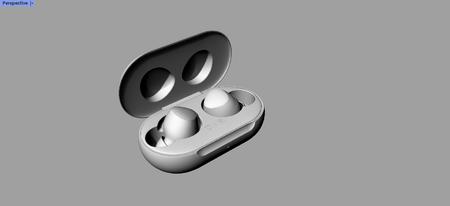 三星无线耳机 Galaxy Buds+犀牛3D模型分享