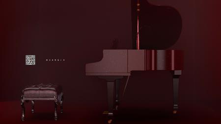 钢琴🎹渲染尝试