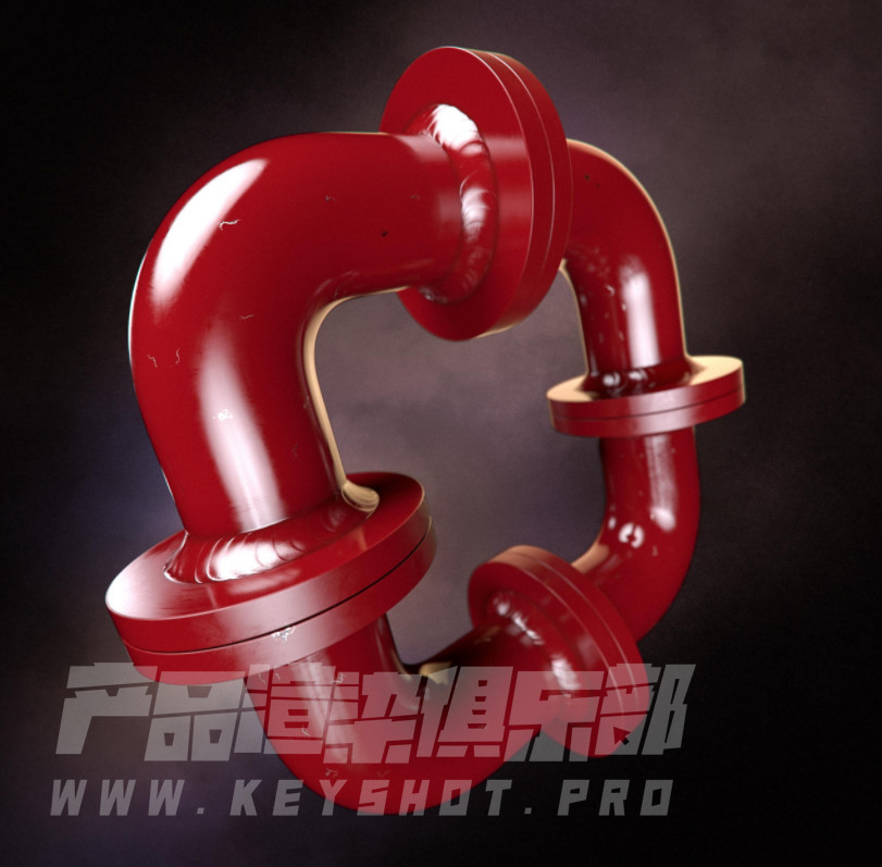 官方国外大神在KeyShot中创建逼真的焊接金属材质 ksp源文件