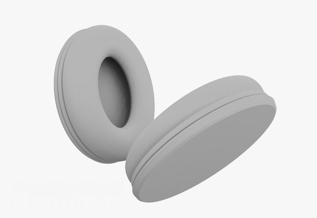 耳罩褶皱效果keyshot8移位材质教程