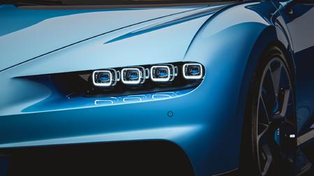 bugatti-chiron-2016布加迪汽车3D模型