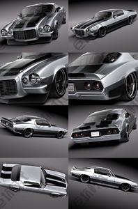 90部汽车精细3D模型分享
