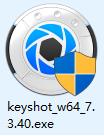 keyshot7安装教程