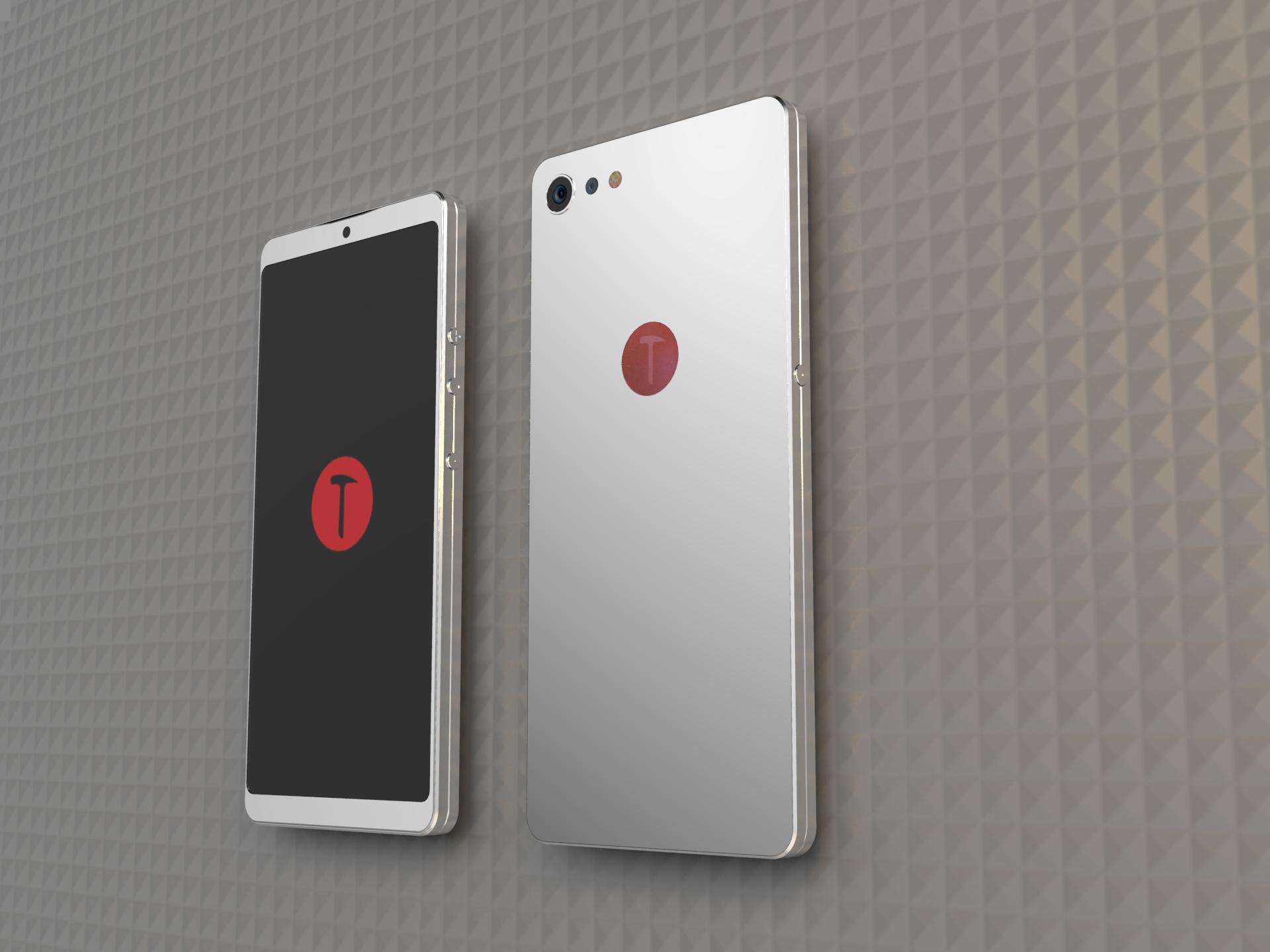 坚果pro2手机渲染 练习