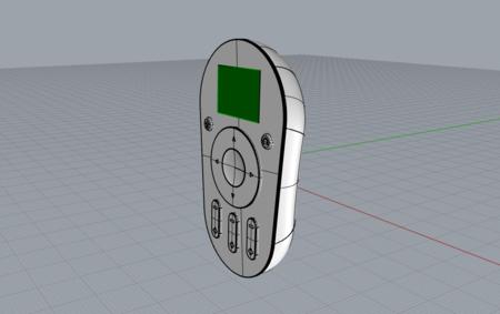 遥控器3D模型