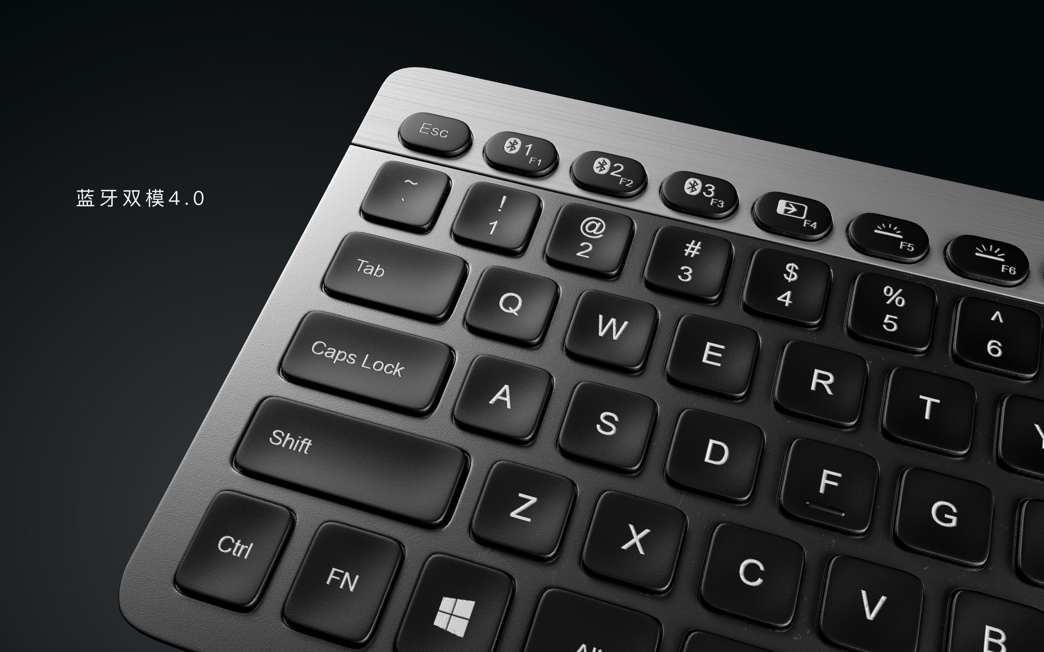 一组键盘渲染