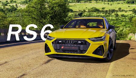 RS6粗修图