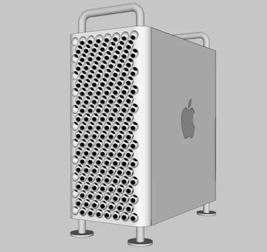 Mac pro 机箱