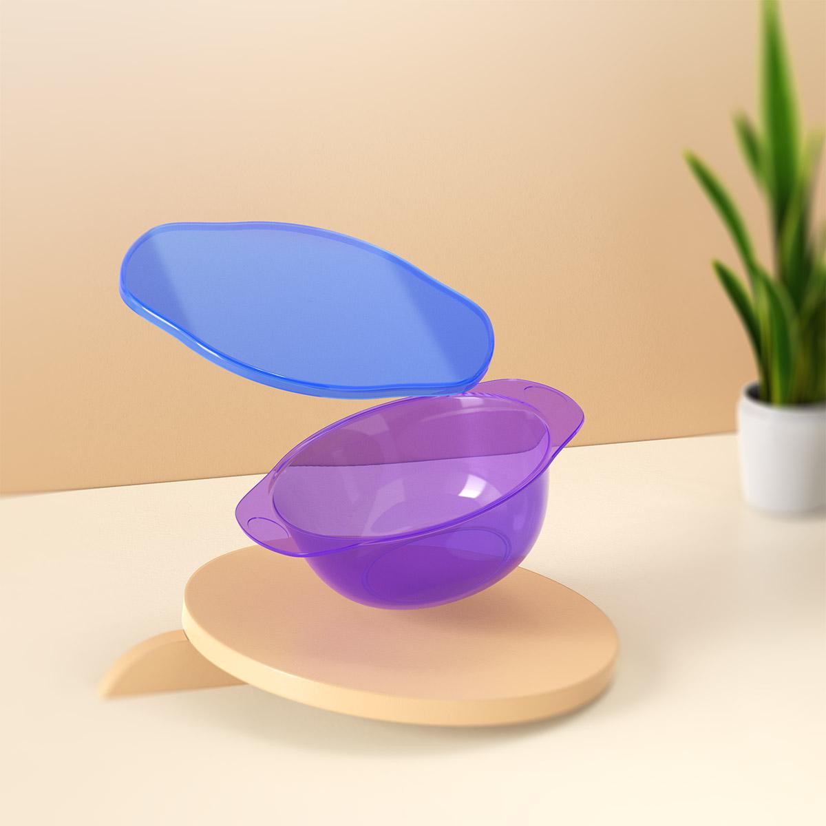 日常-彩色半透明碗