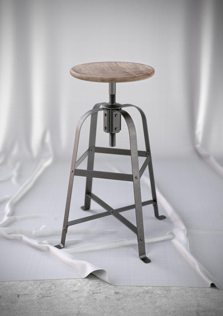 KeyShot 6 产品渲染案例椅子源文件