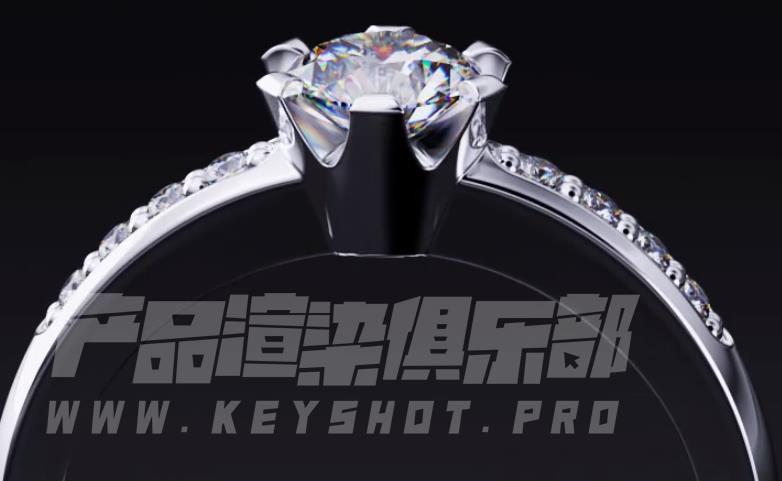 Rhino珠宝3D设计/jewelcad珠宝建模/Keyshot珠宝3D渲染