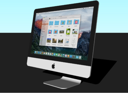 iMac电脑3D模型