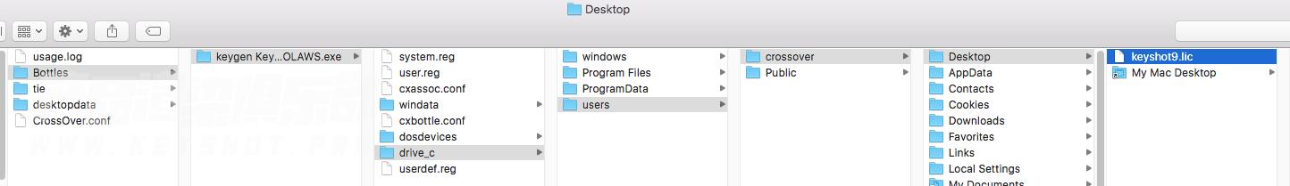 keyshot9 for Mac 的安装方法