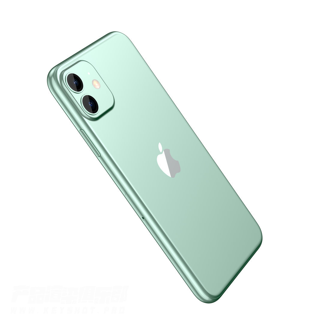 iPhone 11 keyshot渲染