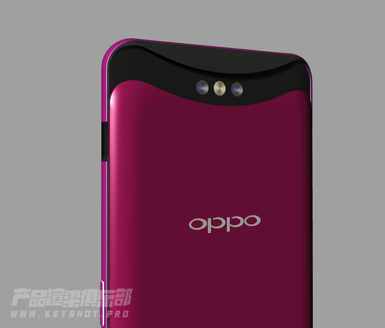 OPPO Find X 3D模型