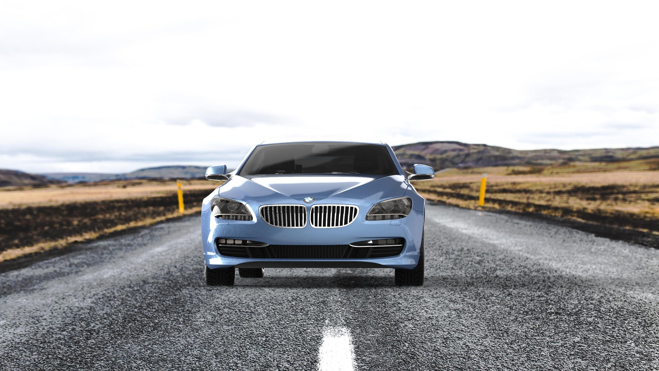 BMW的渲染