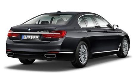 BMW 760精细3D模型