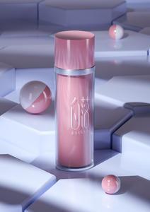 化妆品瓶子C4D模型  OC渲染