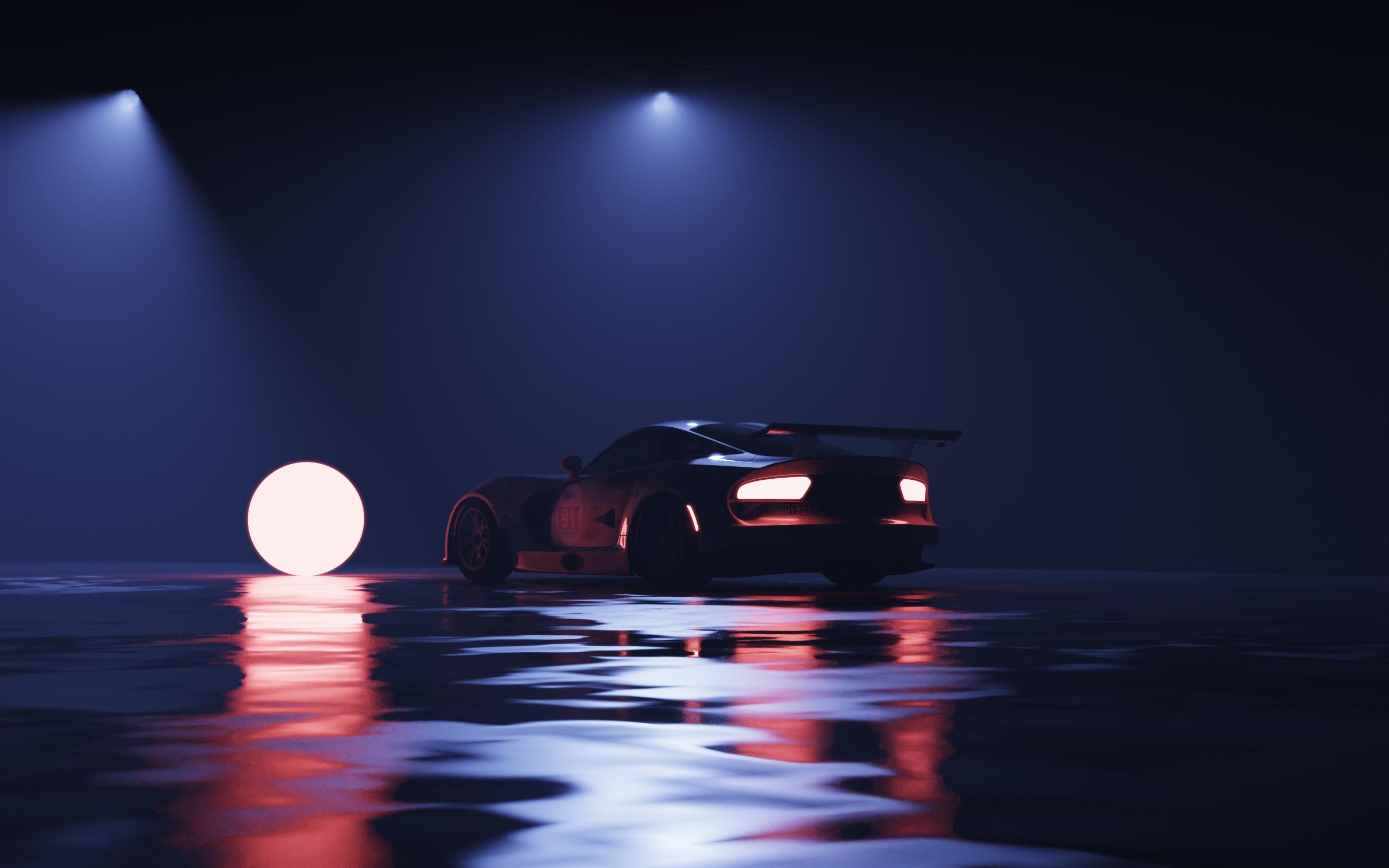 夜间雾光渲染