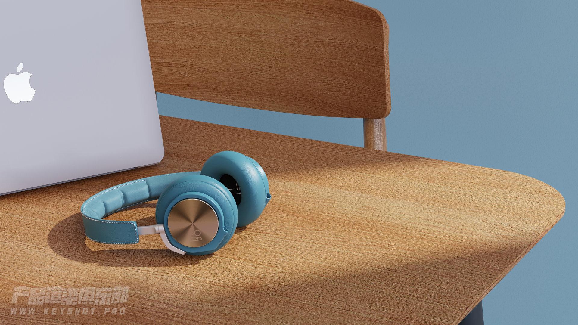 B&O耳机渲染
