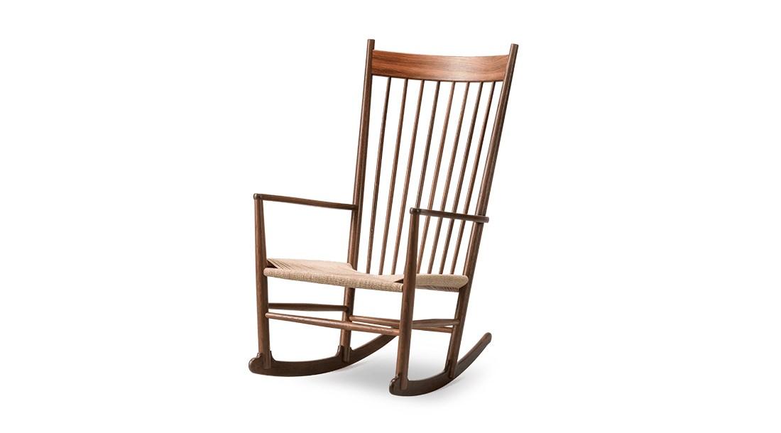一款汉斯韦格纳大师的名作摇椅模型OBJ格式