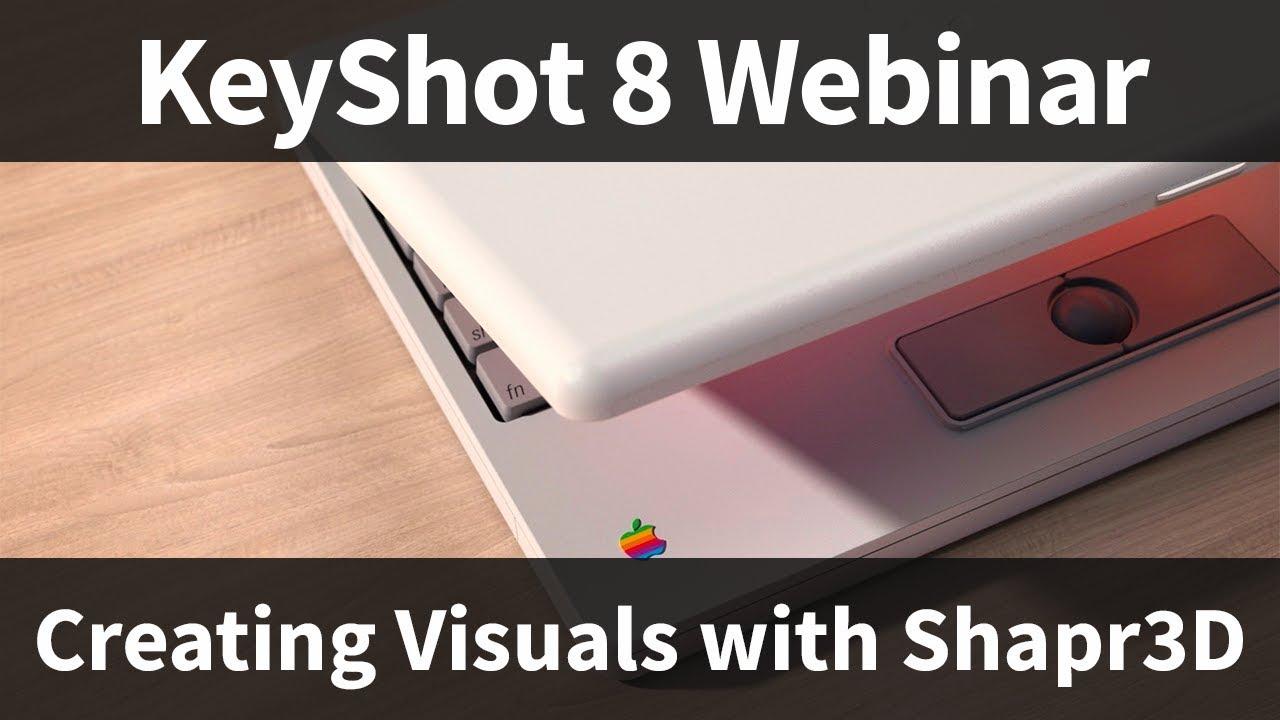 使用Shapr3D和KeyShot创建视觉效果