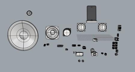 电子设备接口模型