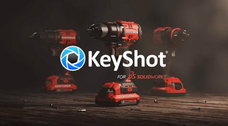 新增/更新:适用于SOLIDWORKS和KeyShot 9.1的Luxion KeyShot现在可用