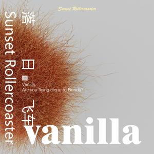 落日飞车-《vanilla》唱片封面设计  制作BY: KEYSHOT9+PHOTOSHOP2020
