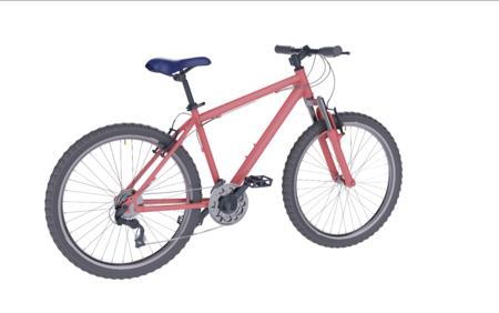 山地车自行车3d模型和ksp源文件