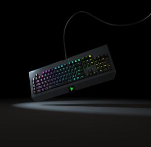 雷蛇发光键盘渲染ksp源文件带贴图
