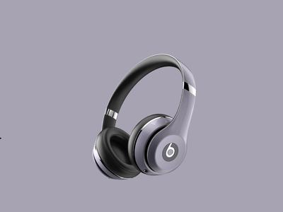 耳机keyshot8渲染练习