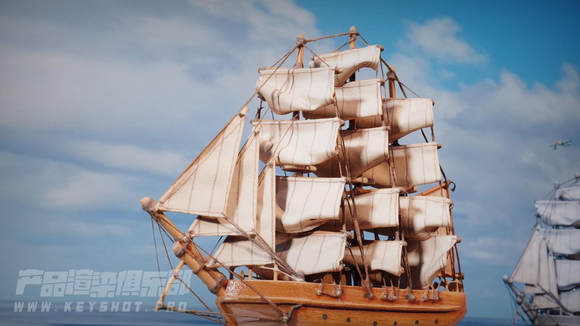 《竞争吧!帆船》/ Keyshot