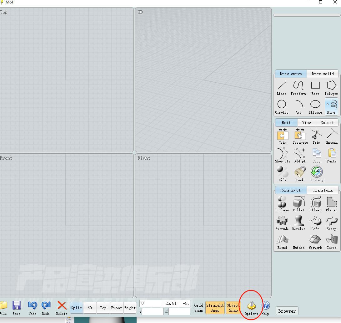 犀牛对接C4D动画特效转KS渲染-Moi 3.0