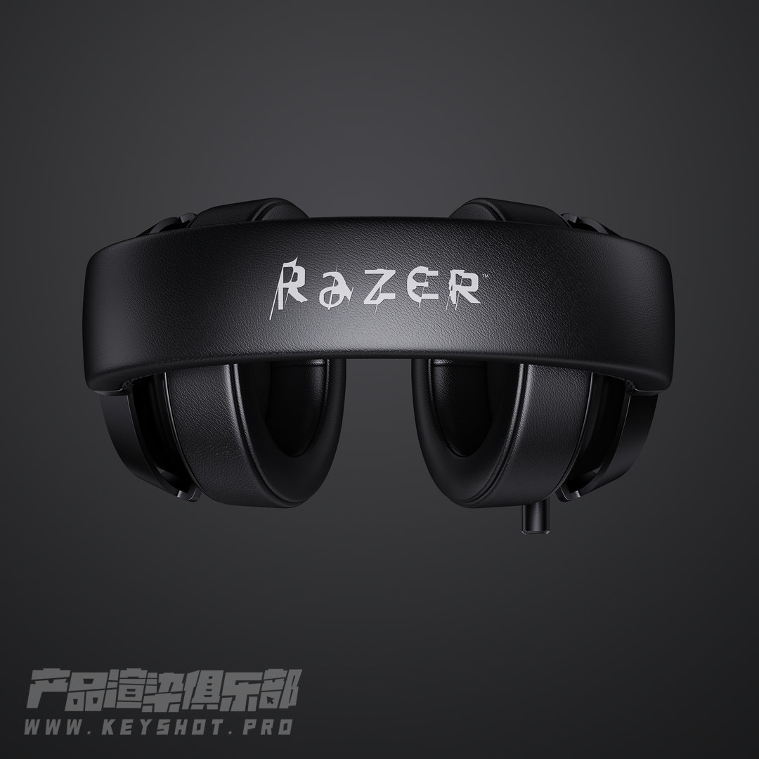 雷蛇耳机 Razer Kraken V2 渲染KSP源文件分享