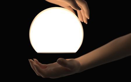 人手模型灯具渲染文件