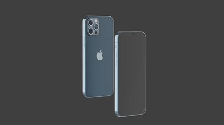 一款iPhone12 pro手机渲染文件