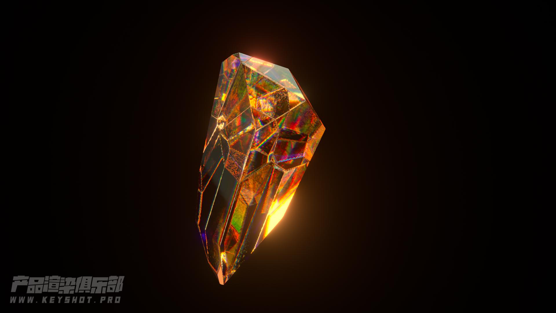 点石成金!?教你用C4D+oc把烂石头变成超级宝石【绝赞发售】