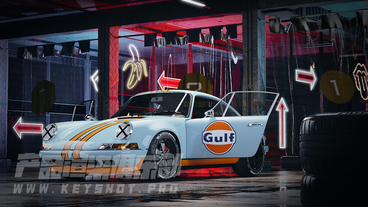 Porsche 911 GULF
