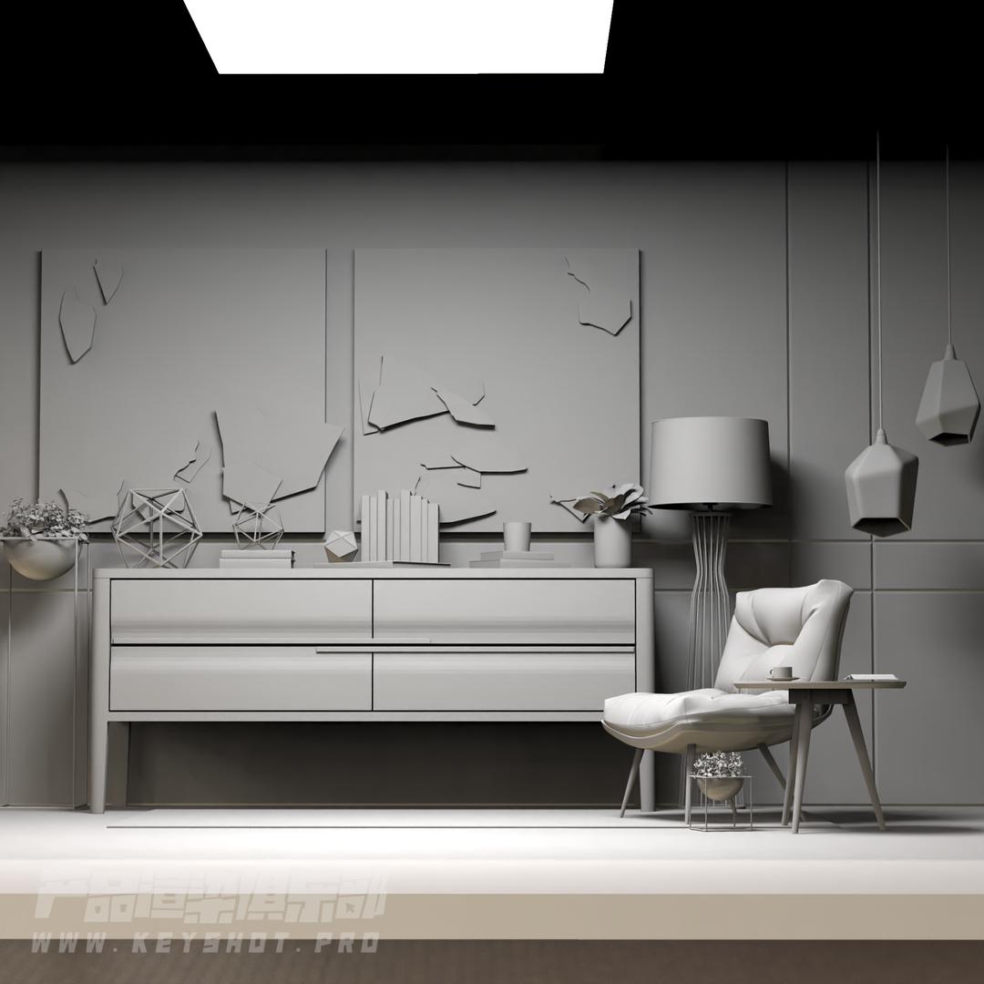 室内产品渲染场景自我编辑素材   喜欢的可以多交流学习