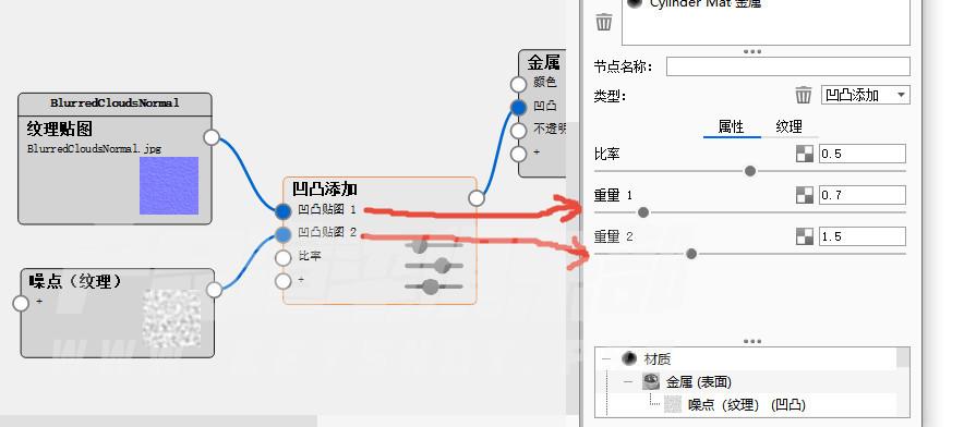 关于keyshot自带纹理接缝问题