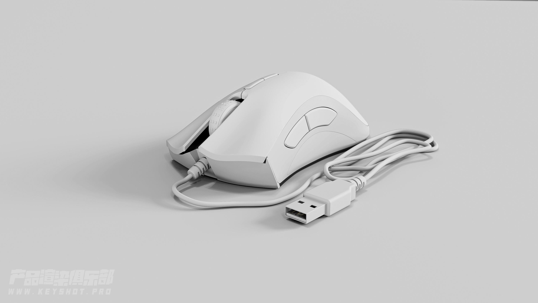雷蛇鼠标3D渲染文件