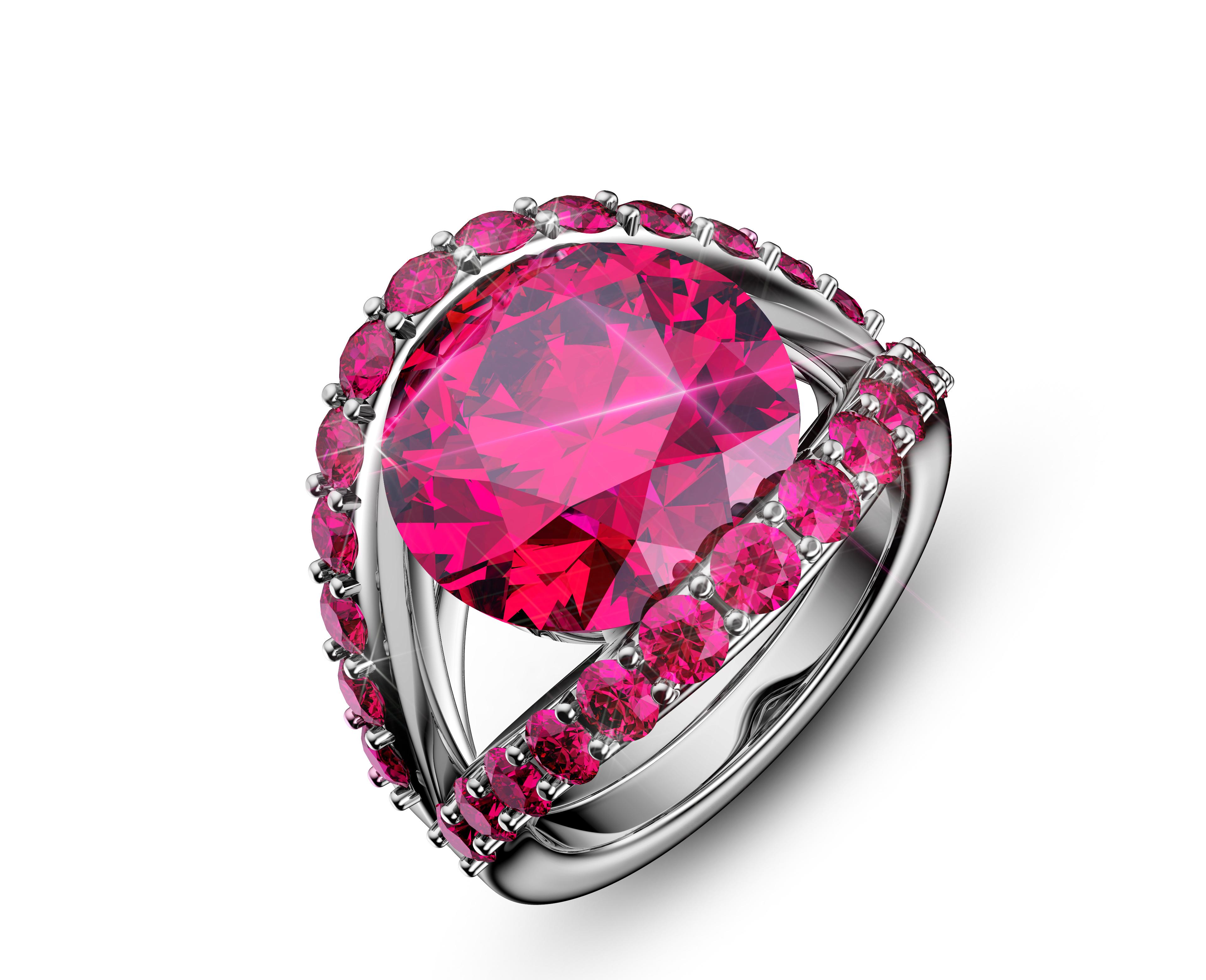 珠宝玉石渲染