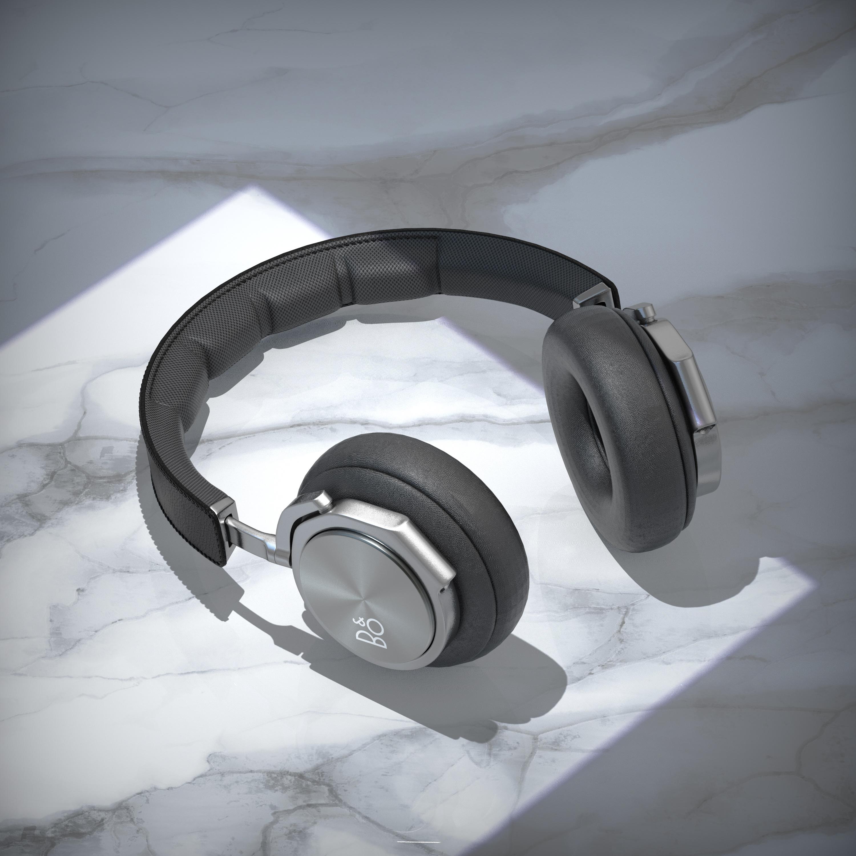 头戴式耳机渲染练习