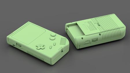 GAME BOY 3D模型 下载