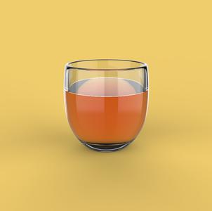 KeyShot8 玻璃杯液体 KSP场景源文件
