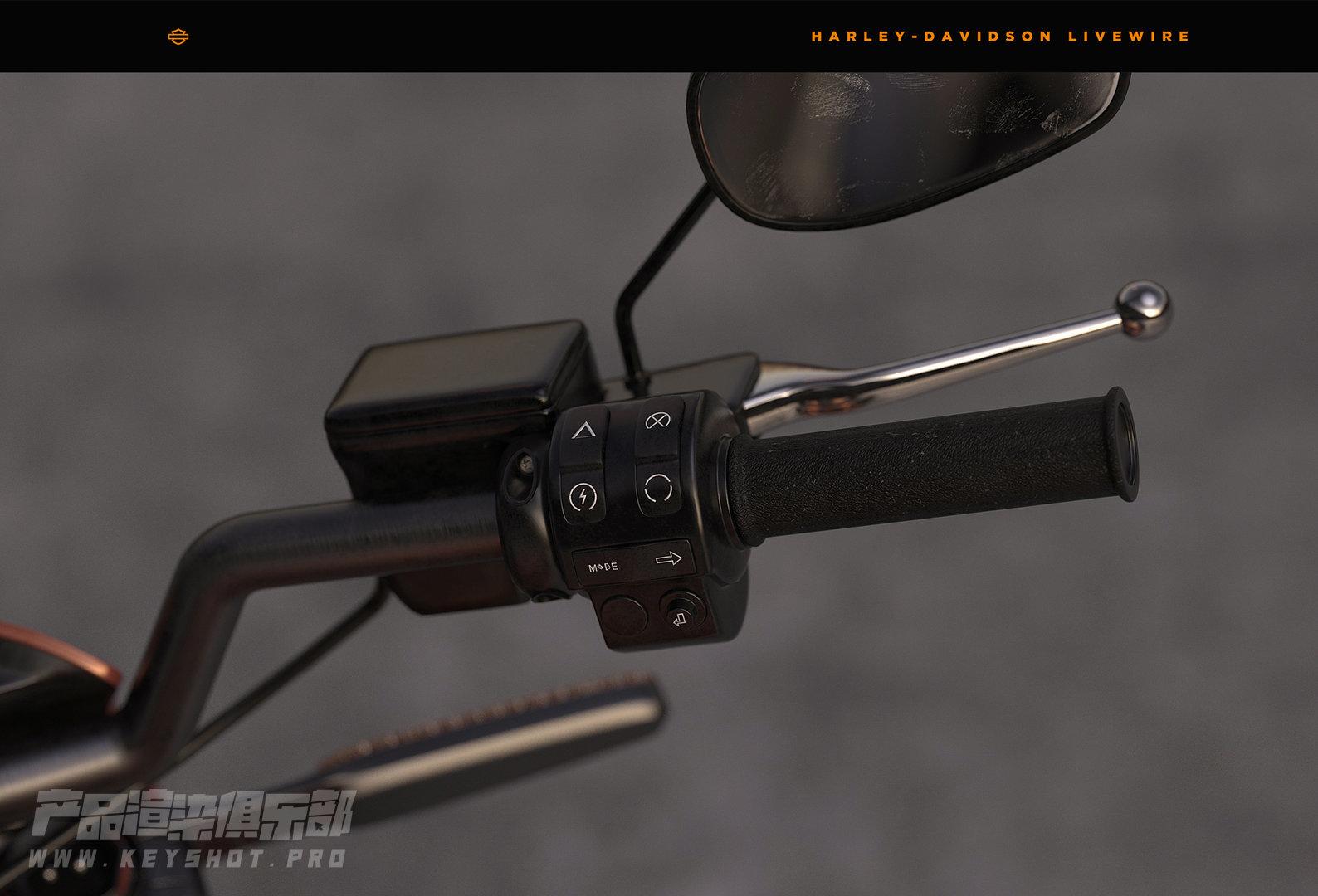 哈雷戴维森「LiveWire」CGI